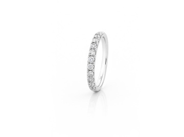 KTJ Signature Diamond Wedding Band