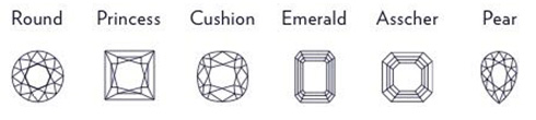 Common Diamond Shapes