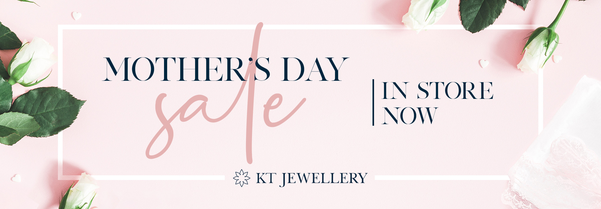 Mother's Day sale in store now