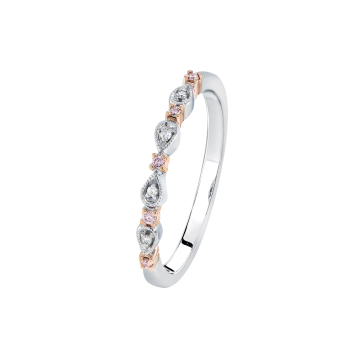 BLUSH JUBILEE PINK DIAMOND RING