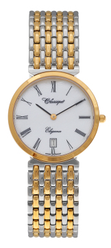 Gents Two Tone Gold Plated Watch